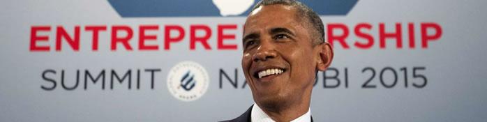 «L'Afrique est en marche», affirme Obama au Kenya