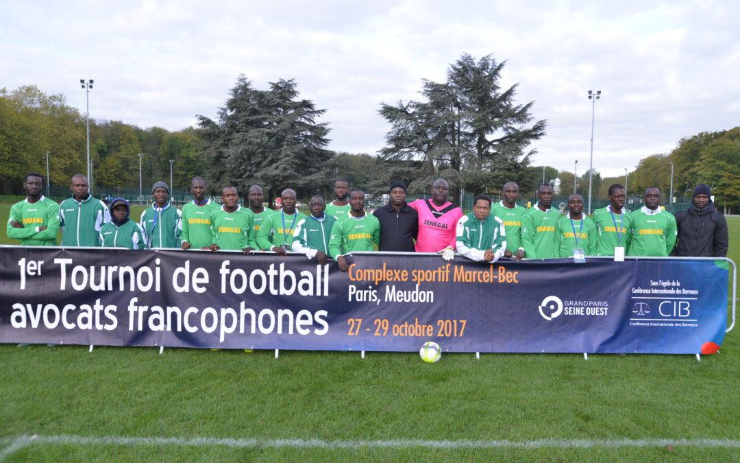 Album photos – 1er tournoi de football des avocats francophones.