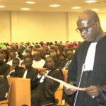 Prestation de serment des Avocats stagiaires – Promotion Me Guedel NDIAYE ou promotion 2018