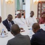 Visite au Président Macky Sall