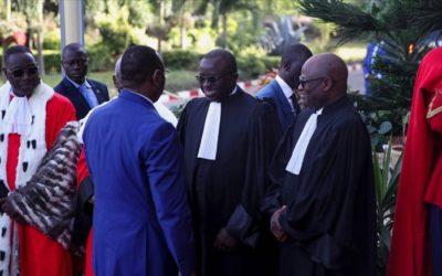 Discours d'usage du Bâtonnier Papa Laïty NDIAYE lors de la Rentrée solennelle des cours et tribunaux – 2020