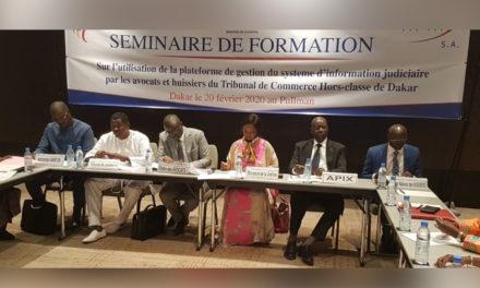 Atelier de lancement de la Plateforme dématérialisée des procédures devant le tribunal de commerce hors classe de Dakar