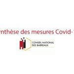 Synthèse des mesures Covid-19 par le Conseil National des Barreaux