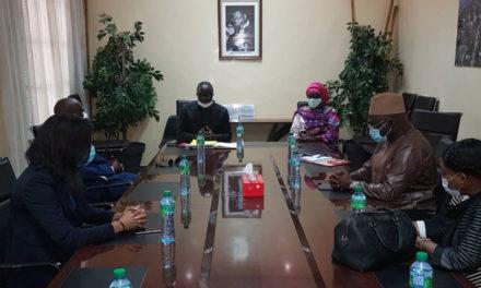 Visite de courtoisie des nouveaux membres de l' OFNAC conduits par Mme Seynabou NDIAYE DIAKHATE