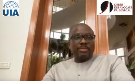 #UIACheckInFlash #21 – Papa Laïty Ndiaye, président de l'association du barreau sénégalais, explique comment les avocats sénégalais font face à la crise sanitaire.