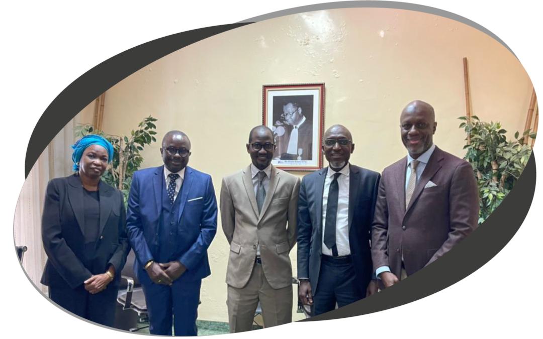 Visite du Président de la chambre des Notaires du Sénégal