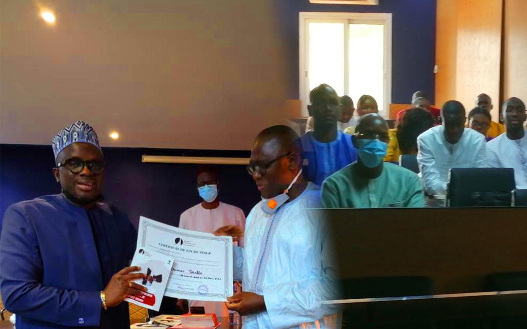 ODAS – Cérémonie de remise de diplôme de fin de stage aux avocats stagiaires sortants